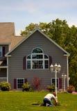 дом американской мечты Стоковые Фотографии RF