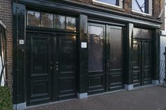 Дом Анны Франк в Амстердаме стоковое изображение rf