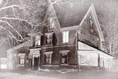 дом ая туманом Стоковые Изображения