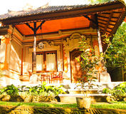 Дом Бали. Стоковые Фотографии RF