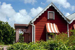 дом Барбадосских островов стоковое изображение rf