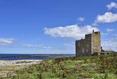 Дом башни исторического острова средневековый северной восточной Англии Стоковые Фотографии RF