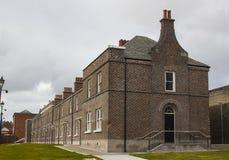 Дом Белфаста Северной Ирландии Burren дороги Crumlin известная терраса викторианских домов Стоковые Фотографии RF