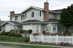 дом блока новая Стоковая Фотография RF