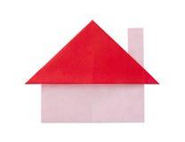 Дом бумаги Origami стоковая фотография rf