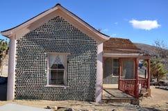 Дом бутылки в риолите, Неваде, США Стоковые Изображения
