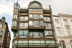Дом бывшего старого универмага Англии, построенный в 1899, с собранием музея музыкальных инструментов теперь Стоковое фото RF