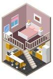 Дом вектора равновеликий иллюстрация вектора