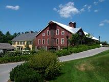 дом Вермонт гольфа клуба Стоковая Фотография RF