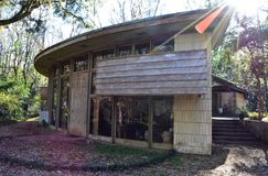 Дом весны Фрэнк Ллойд Райт, Tallahassee Флорида стоковая фотография rf