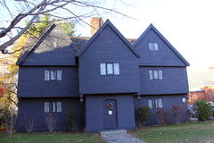 Дом ведьмы, Салем, Massetuchettes Стоковые Фотографии RF