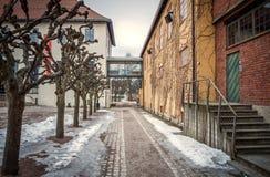 Дом Викинга, музей Осло фольклорный, Норвегия Стоковая Фотография RF