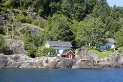 Дом водой Стоковое Фото