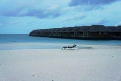 Дом воды на острове Meeru Стоковые Фотографии RF