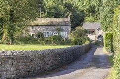 Дом встречи Quaker друзей, Sawley, Lancashire Стоковое Фото