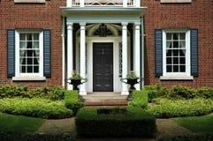 дом входа официально Стоковое Изображение