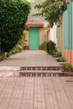 дом входа Стоковая Фотография