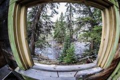 Дом в горах Стоковая Фотография