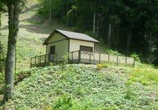 Дом в горах Стоковое Изображение RF