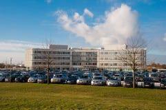 Дом в Дании, витрина организаций инвалидности объектов для инвалидов стоковая фотография