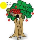 Дом в дереве Стоковое фото RF