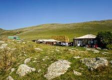 Дом в деревне Arpi озера стоковая фотография