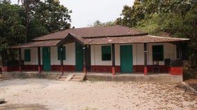 Дом в деревне в Бангладеше Стоковые Фотографии RF