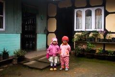 Дом в деревне Стоковые Фото