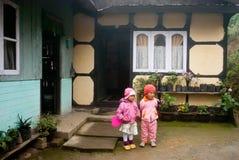 Дом в деревне Стоковая Фотография RF