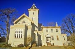 Дом в историческом Ньюкасл, DE Стоковая Фотография RF