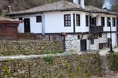 Дом в котором люди живут Стоковое Изображение