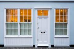 Дом в Лондоне, Великобритании стоковая фотография rf