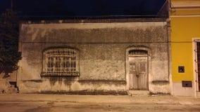 Дом в Мериде, Мексике стоковое фото rf