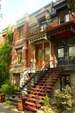 Дом в Монреале Стоковое фото RF