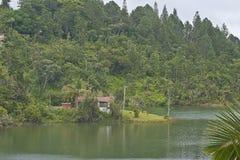Дом в озере Carite, Пуэрто-Рико Стоковые Фотографии RF