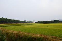 Дом в поле Стоковое фото RF