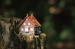 Дом в природе Стоковое Фото