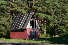 Дом в древесинах Стоковые Изображения RF