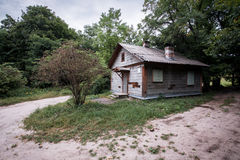 Дом в древесине Стоковое Изображение RF