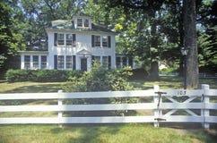 Дом в роще Вашингтона, Мэриленде Стоковые Фото