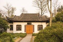 Дом в саде Duojing Стоковые Фотографии RF