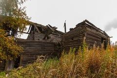 Дом в селе Qashqani Стоковые Фотографии RF