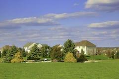 Дом в стране Стоковые Изображения RF