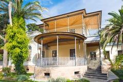 Дом в тропиках стоковое изображение rf