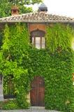 Дом в цветки Стоковые Изображения