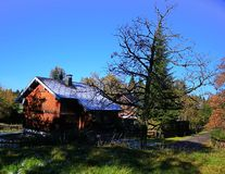 Дом в Boedele Австрии Стоковое фото RF