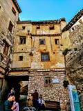 Дом в Cuenca стоковое фото rf