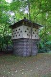 Дом голубя для заявк в парке стоковые изображения rf