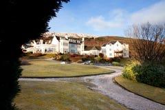 дом горного склона Стоковое фото RF
