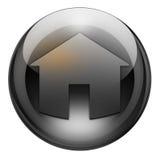 дом графита кнопки Стоковое Изображение RF